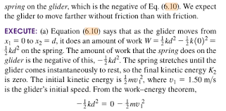 In This Problem Why Do We Need To Use Work Done By The
