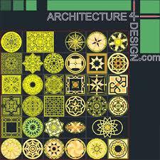 tile flooring samples for autocad stone floor design