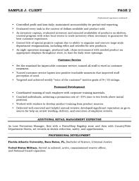 Retail Salesperson Resume Job Description Sales Associate Sample