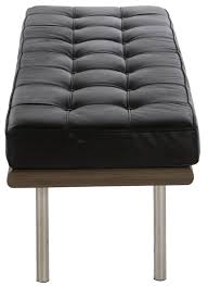 Barcelona Chair Style Mies Van Der Rohe Style Barcelona Style Bench Small Style