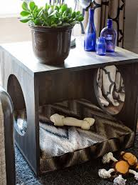 How to Make a Plywood Pet Bed and Occasional End Table how tos