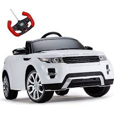 Range Rover Evoque Licensed Kids Ride On Car White Kids Ride On Range Rover Used Cars Online