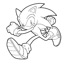 Small Picture Sonic runs coloring pages for kids printable free Printables