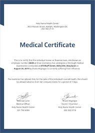 Medical Certificate For Sick Leave Stunning 44 Medical Certificate Samples Free Premium Templates