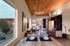 Modern cabin interior design Cottage Highly Crafted Modern Desert Cabin Idesignarch Highly Crafted Modern Desert Cabin Idesignarch Interior Design