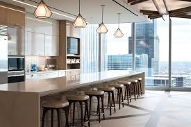 office in kitchen. Kitchen Area In The BAM Chicago Office - Balyasny Asset Management Chicago, IL (