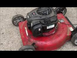 old briggs and stratton lawn mower. user submitted video old briggs and stratton lawn mower c