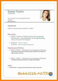 8 Cv Sample For Job Application Theorynpractice