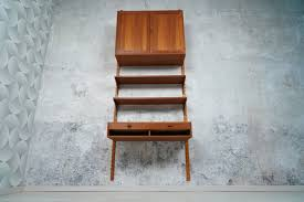 danish teak shelf shelving system wall