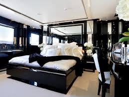 elegant bedroom decoration in black and white theme design black and white furniture bedroom