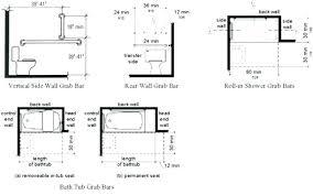 shower safety bar placement bathtubs grab bars for showers best bathtub ideas installation fiberglass
