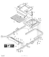 John deere parts diagrams john deere z425 eztrak mower w 48inch deck pc9594 frame 040000 wheels frame operator's station