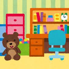 子供部屋のイラスト(室内風景)   かわいいフリー素材集 いらすとや
