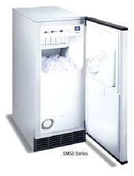 refurbished under counter ice maker office or home ice machine commercial ice machines refurbished countertop ice