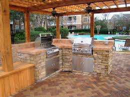 Outdoor Kitchen Cabinets Polymer Plans And Ideas InstachimpCom - Outdoor kitchen miami