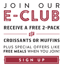 sign up for our eclub today
