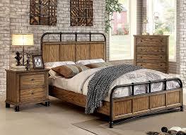 industrial style bedroom set. lexington rustic finish bedroom set.jpg industrial style set smart guide home design