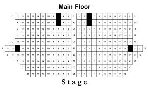 Seating Chart Woodstock Illinois