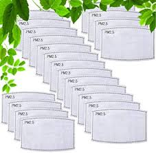 <b>20 PCS</b> PM2.5MASK <b>KIDS</b> Activated Carbon Filter, Protective Mouth ...