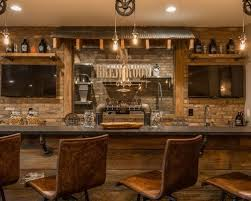 A Rustic Basement Design Ideas Pictures Remodel Decor
