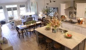 Open Floor Plan Steel Homes - Open floor plan kitchen
