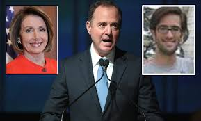 Image result for Photos of Adam schiff writing with a shadow author
