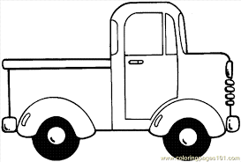 Free Printable Coloring Image Truck Coloring Page 19 Coloring