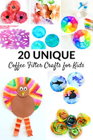 Dip the tip of the folded coffee filter into the diluted food coloring for about 2 seconds. Best Coffee Filter Crafts For Kids Fantastic Fun Learning