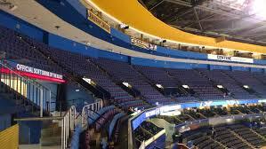 Blues Enterprise Center Seating Chart Enterprise Center Mezzanine Level Corner Hockey Seating