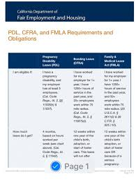 Fmla Cfra Chart How Long Can You Really Take For Maternity Leave