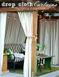 gazebo curtains outdoor full image for outdoor privacy curtains for deck patio privacy ideas to keep