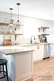 Best 25+ Rustic white kitchens ideas on Pinterest | Large kitchen island,  Wood counter tops kitchen and Wood top island kitchen