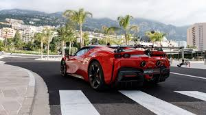 Thanks to it, the hypercar weighs only 3,461 pounds after factoring in the electric powertrain's 595 pounds. 986bhp Ferrari Sf90 Stradale Stars In C Etait Un Rendezvous Recreation Evo