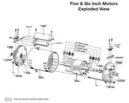 bell gossett hp v phase rpm motor bell gossett 5