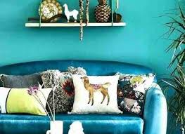 What Color Goes With Turquoise Teal Accent Wall Living Room Walls