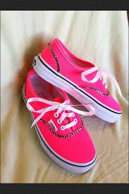 vans shoes for girls 2015. neon+pink+bling+vans+shoes+by+munchkenz+on+ vans shoes for girls 2015 0