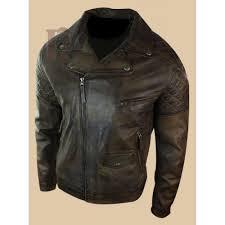 men vintage brown real leather jacket dark brown leather jackets