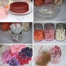 Rhubarb Rose Wedding Diy Cake Pops