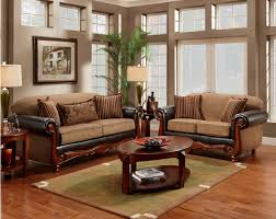 Stylish Sofas Delectable Living Room Furniture With Wood Trim Design Ideas