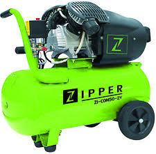 compresor de aire para pintar. compresor de aire 3 cv 50 litros 2 etapas + accesorios zipper zi com50 para pintar