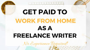 make money from home as a lance writer earn smart online class