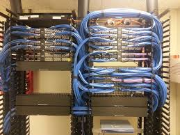 Cable arrangement with modular patch panel and cable manager. What do you  think of it