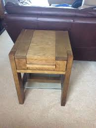 solid wood coffee table small