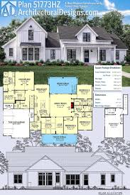 small farmhouse plans lovely plan hz 4 bed modern farmhouse with bonus over garage of small