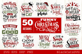 3d christmas svg files, free christmas svg files, christmas svg files, christmas box svg files. Funny Christmas Bundle 50 Designs Graphic By Blackcatsmedia Creative Fabrica