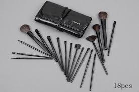 m a c 18pcs makeup brush set mac makeup eyeshadow mac makeup