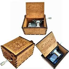 Engraved Wooden Music Box Game Of Thrones Game of Thrones New Handmade Engraved Wooden Music Box crafts 24