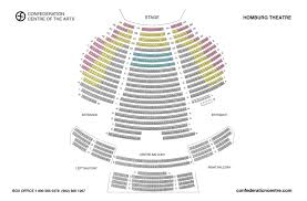 Pan American Center Seating Chart With Rows Homburg Theatre Confederation Centre Of The Arts