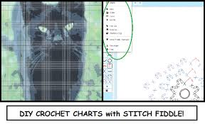 free program to make charts crochet is the way diy charts with stitch fiddle