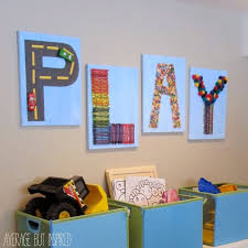 kid wall art ideas
